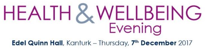 Health & Wellbeing Evening 7th December 2017
